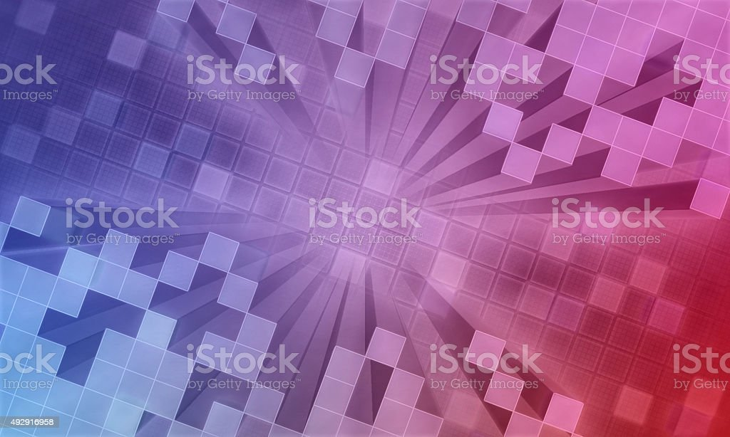 3D Future Background stock photo