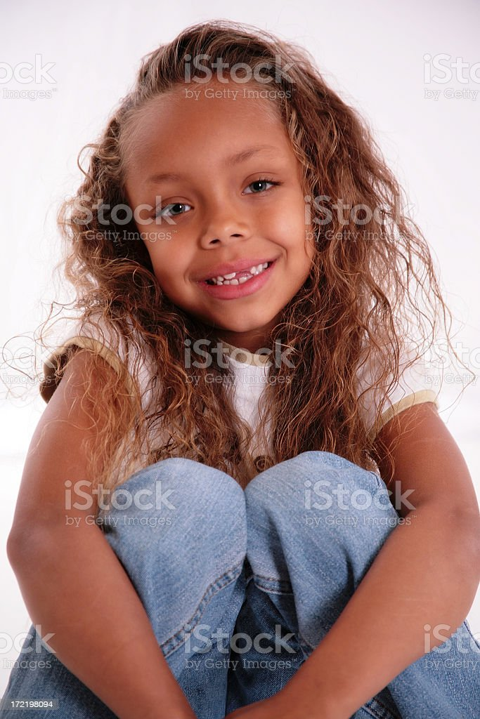 Future Beauty Queen royalty-free stock photo
