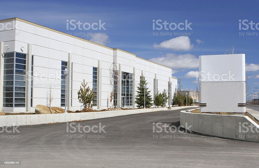 Future Business with Sign stock photo