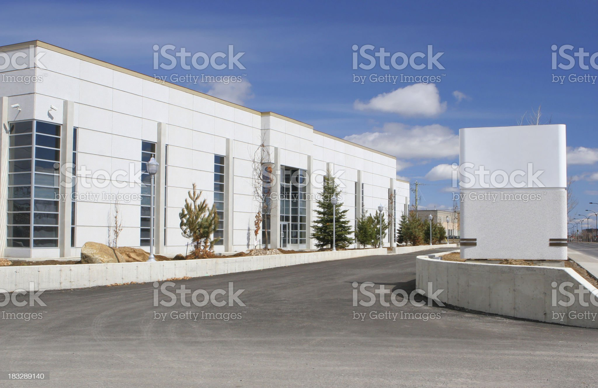Future Business with Sign royalty-free stock photo