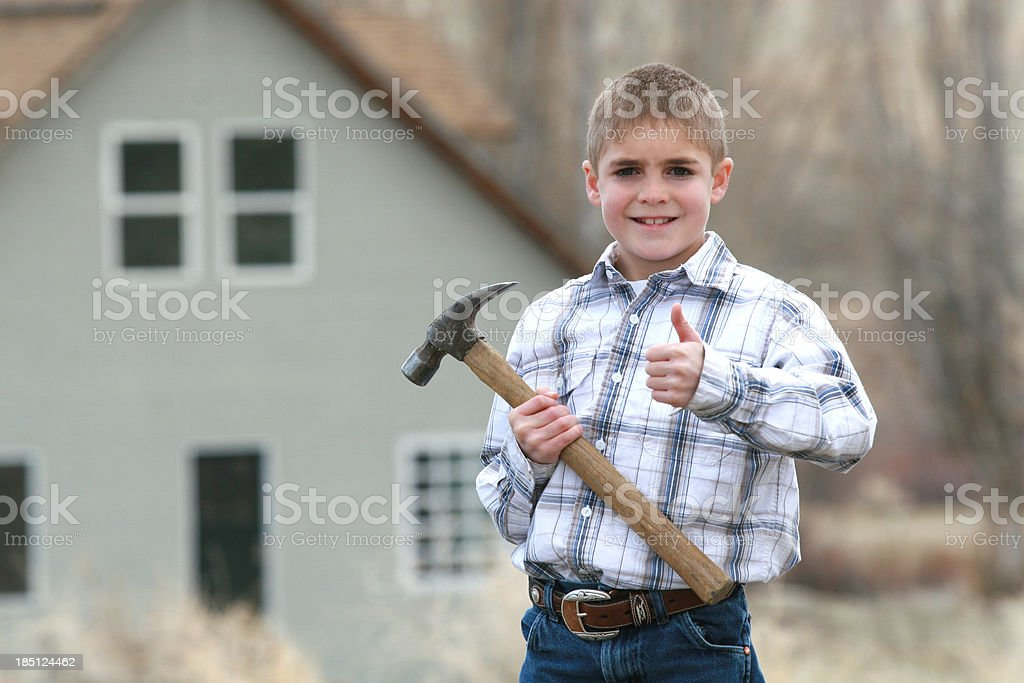 Future Canpenter stock photo