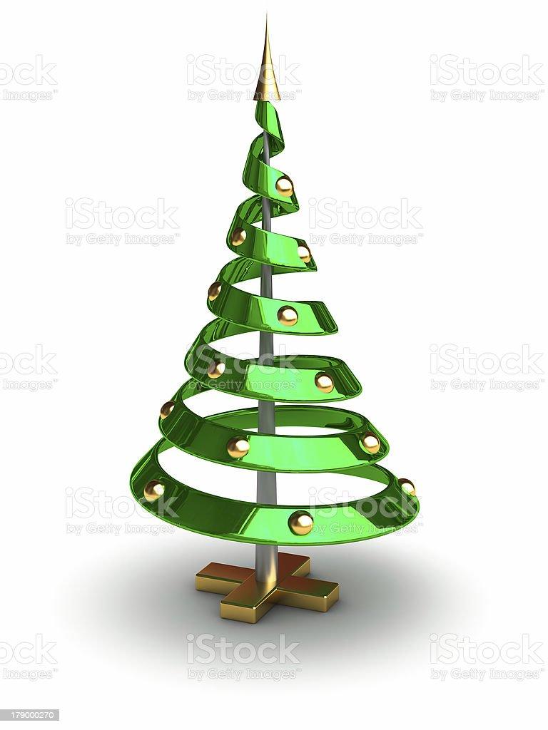 future christmas tree stock photo