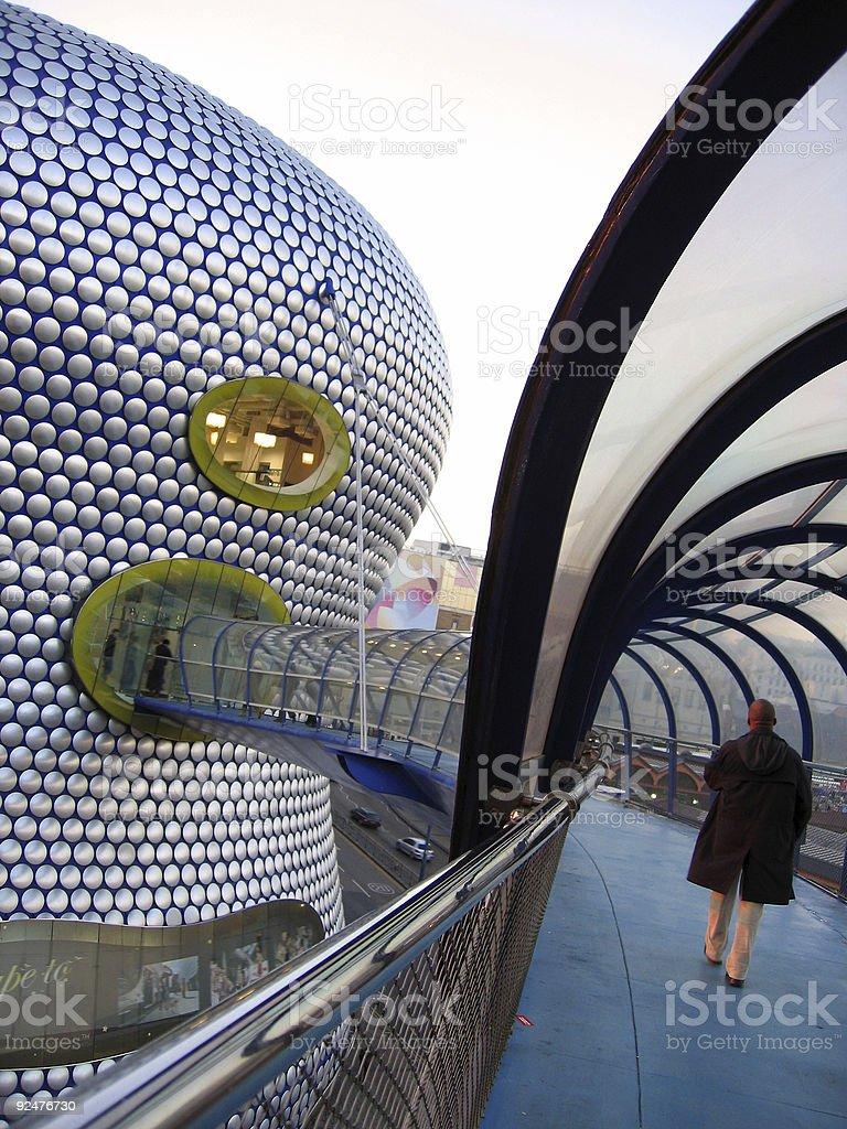 future city shopping mall birmingham uk royalty-free stock photo