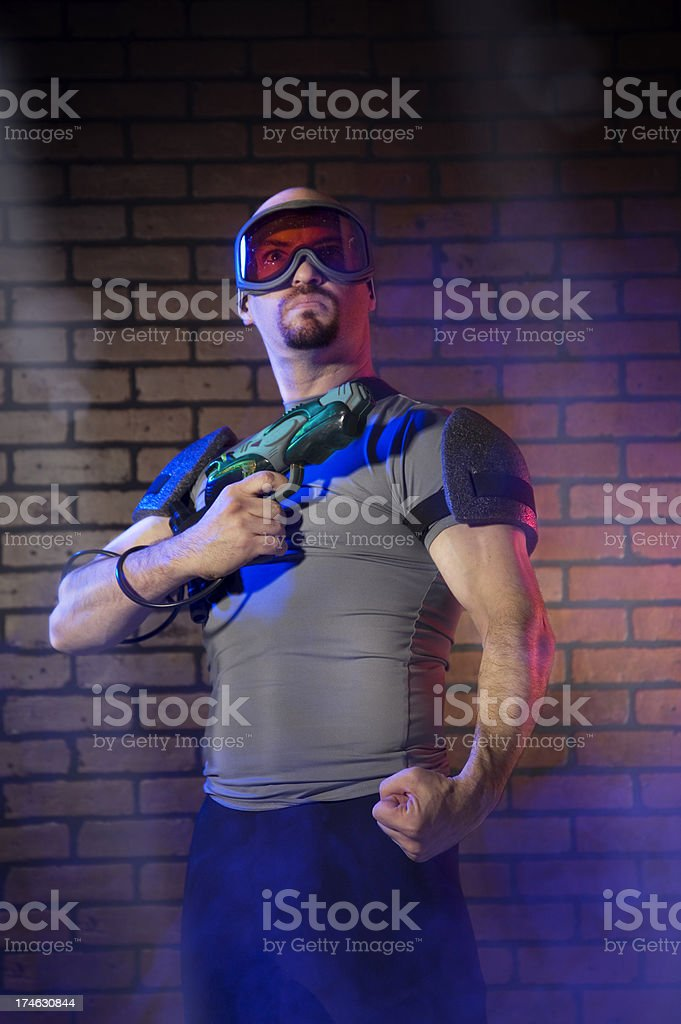 Future Cop royalty-free stock photo