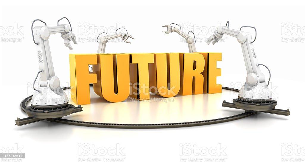 Future creating royalty-free stock photo