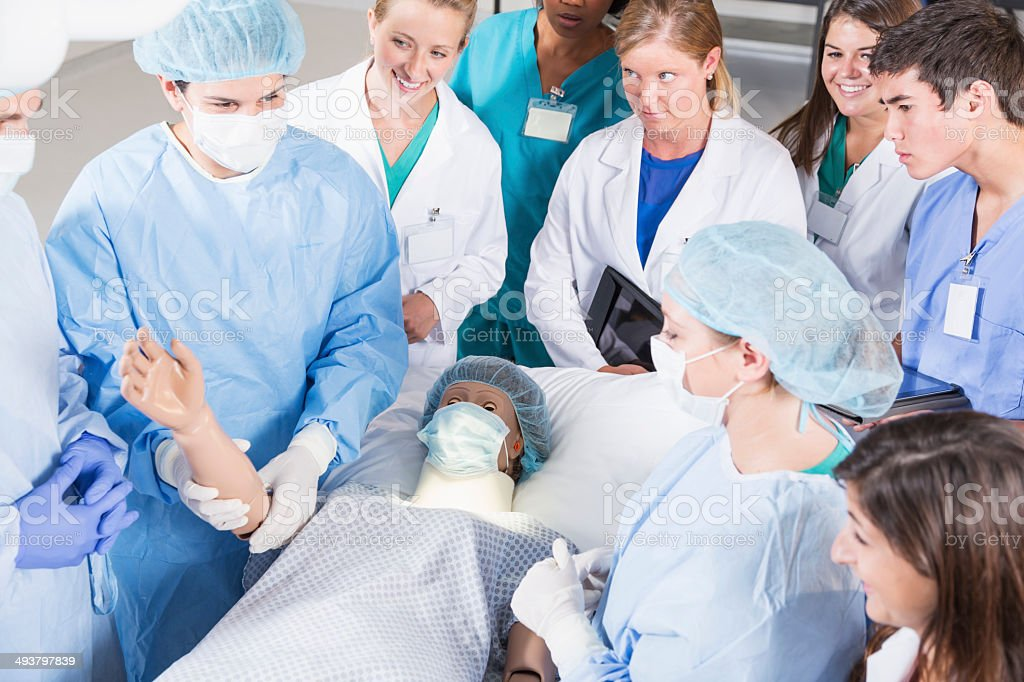 Future doctors stock photo