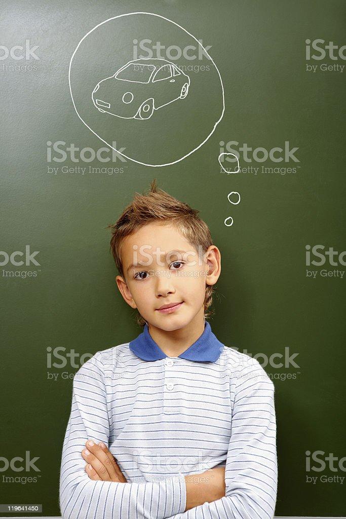 Future driver stock photo