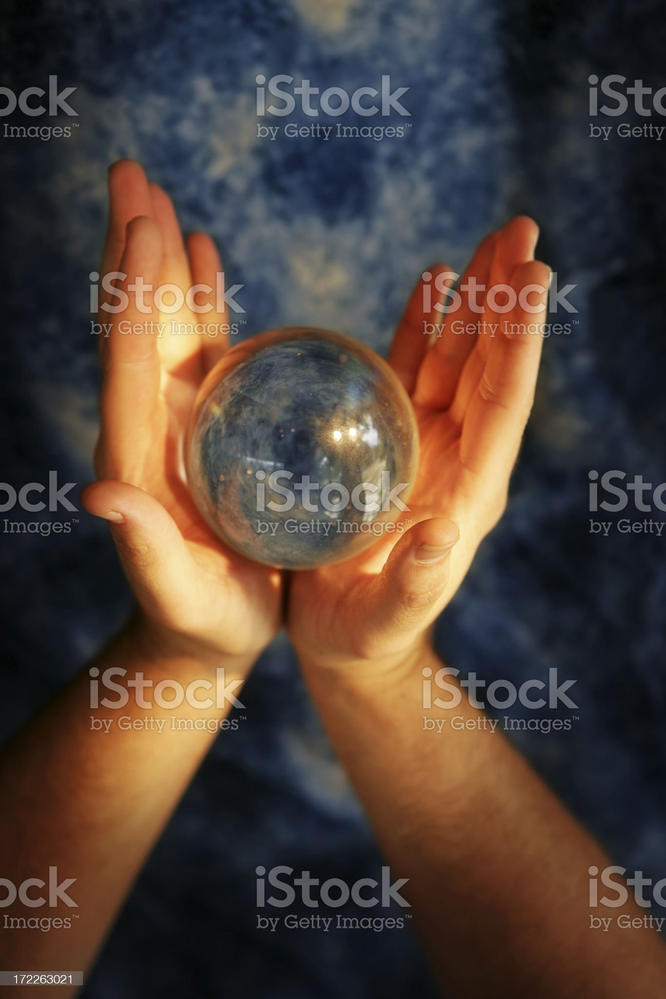 Future Glimpse royalty-free stock photo