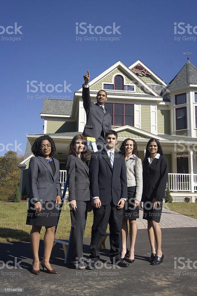 Future goals royalty-free stock photo