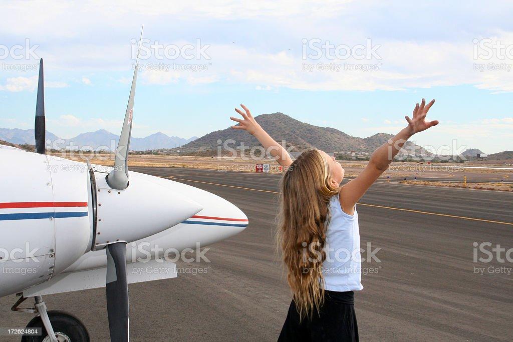 Future of Aviation stock photo