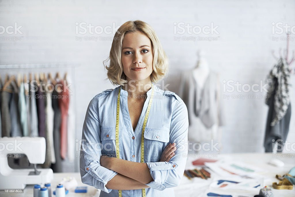 Future of fashion royalty-free stock photo