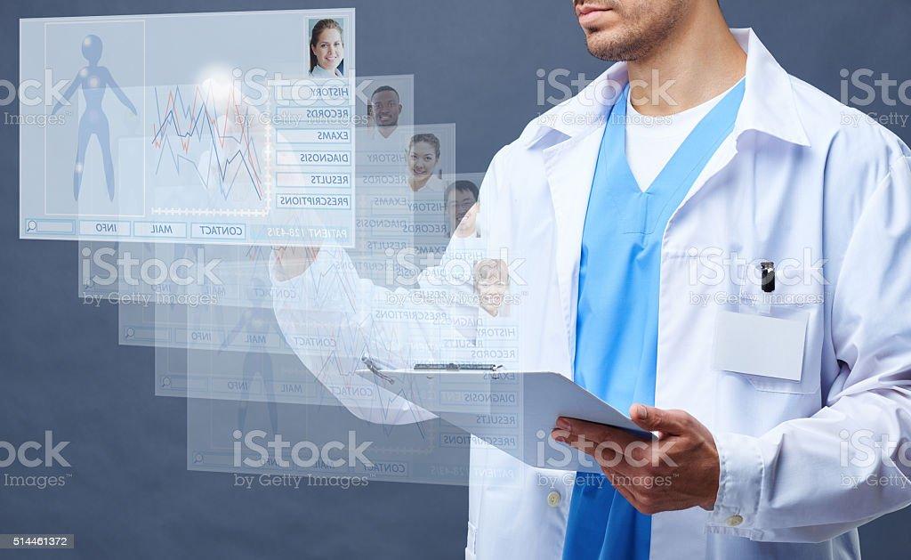 Future of medicine stock photo