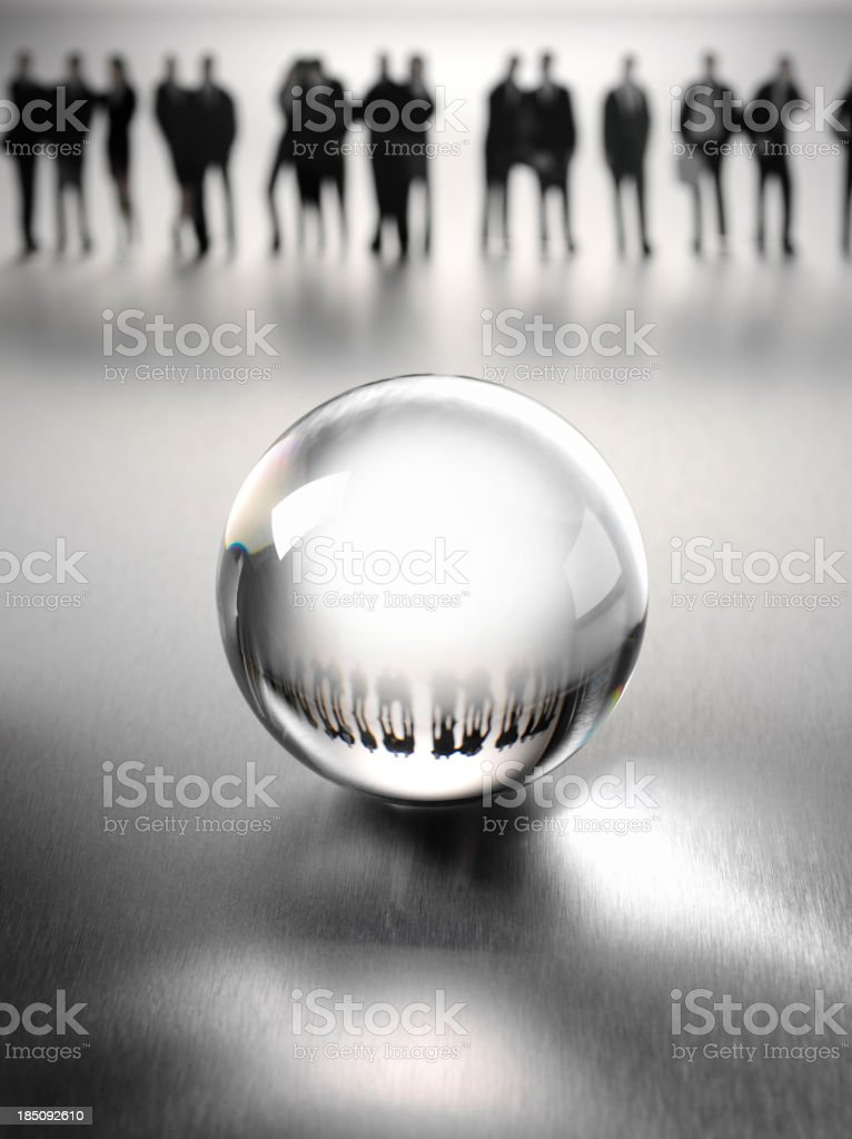 Future of the Business Team royalty-free stock photo