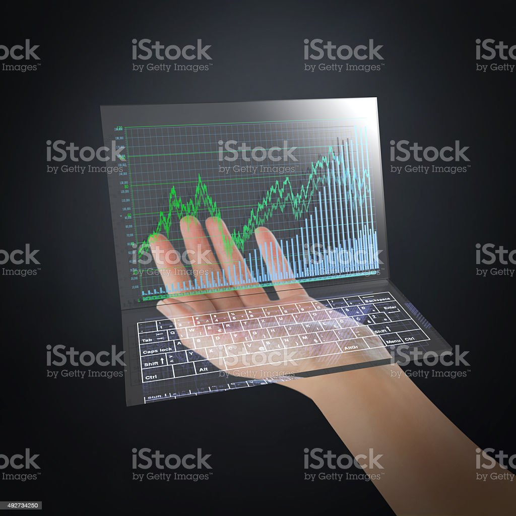Future of The Stock Market stock photo