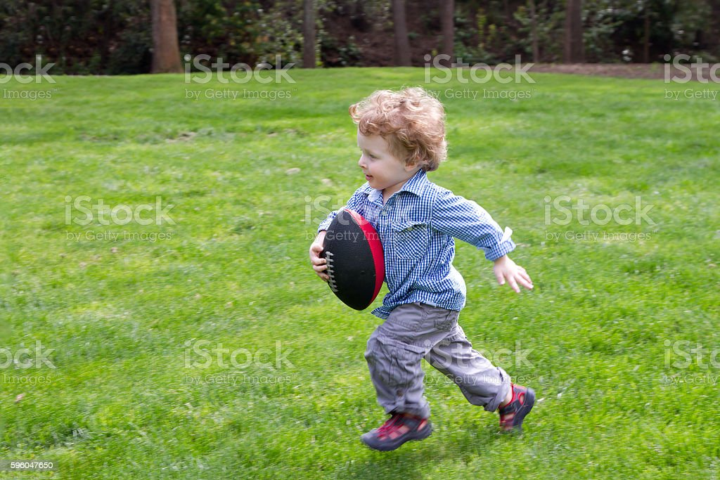 Future Running Back royalty-free stock photo