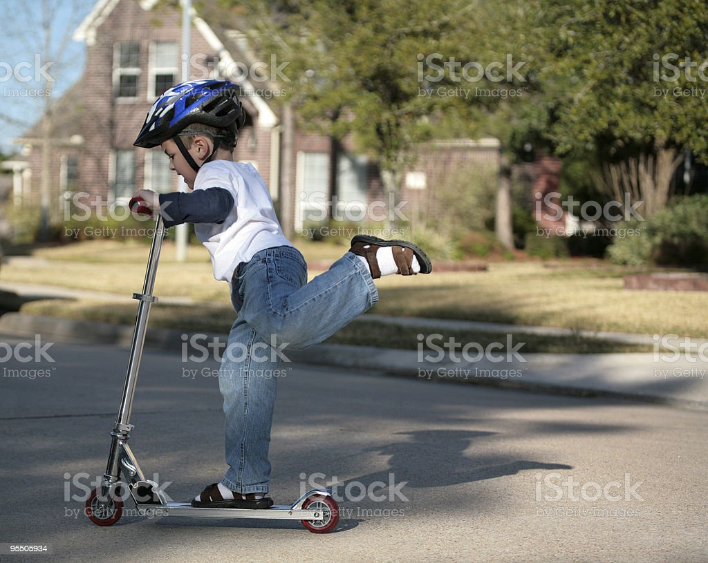 Future skater-dude! royalty-free stock photo