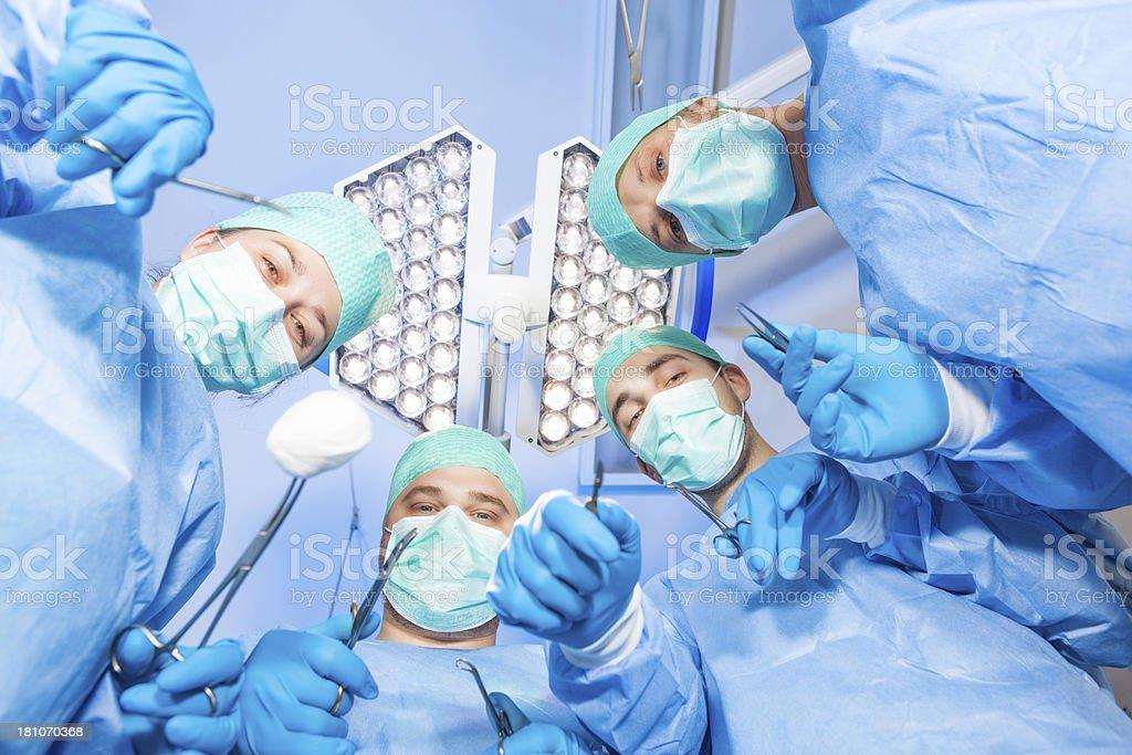 future surgeons royalty-free stock photo