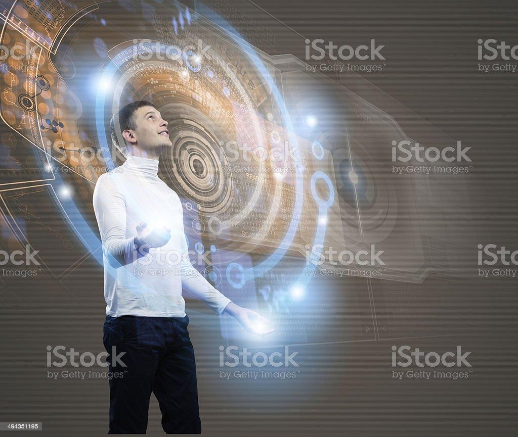 Future technologies stock photo