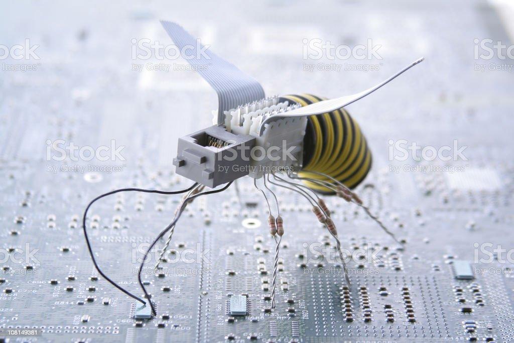 Future Wasp royalty-free stock photo