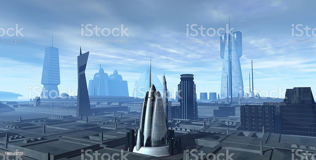 Futurescapes V11 royalty-free stock photo