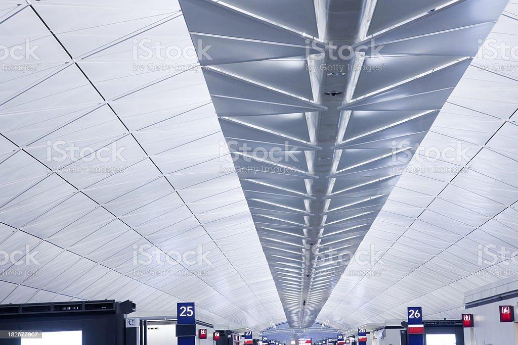 Futuristic Airport royalty-free stock photo