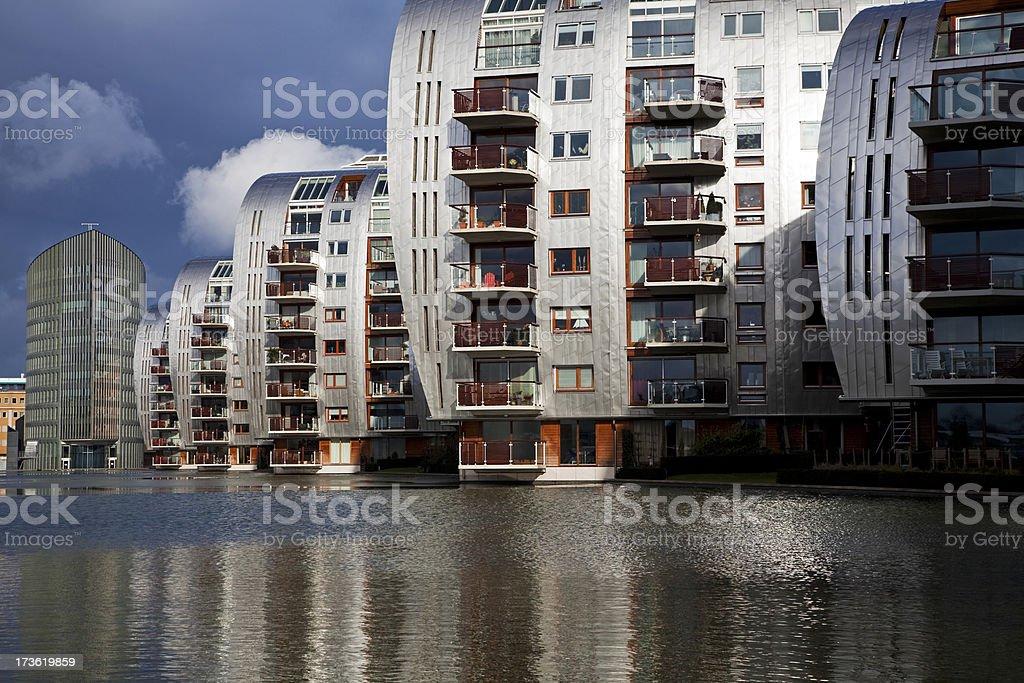 Futuristic apartments # 3 XXXL royalty-free stock photo