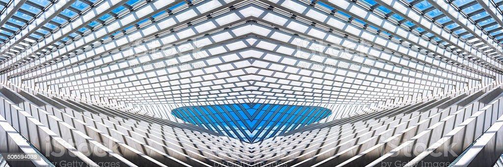 Futuristic Architectural Structure stock photo