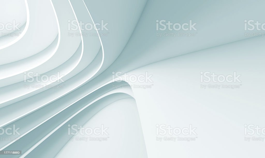 Futuristic Architecture Background royalty-free stock photo