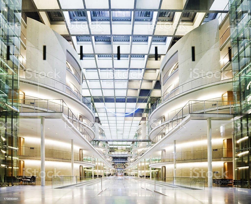 Futuristic Architecture royalty-free stock photo