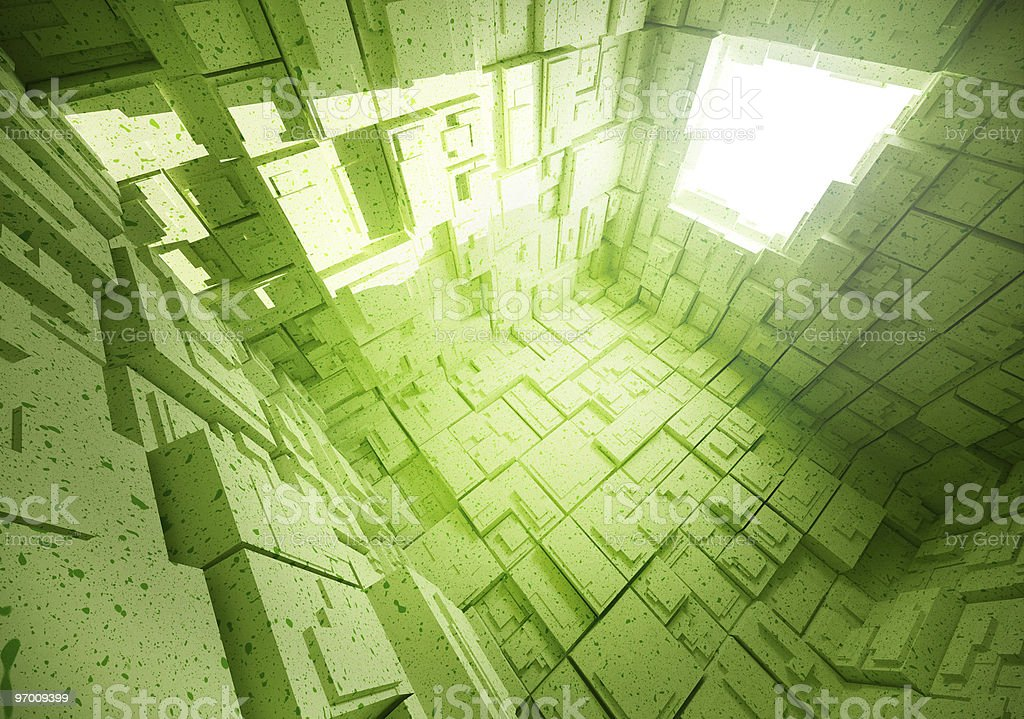 3D futuristic background royalty-free stock photo