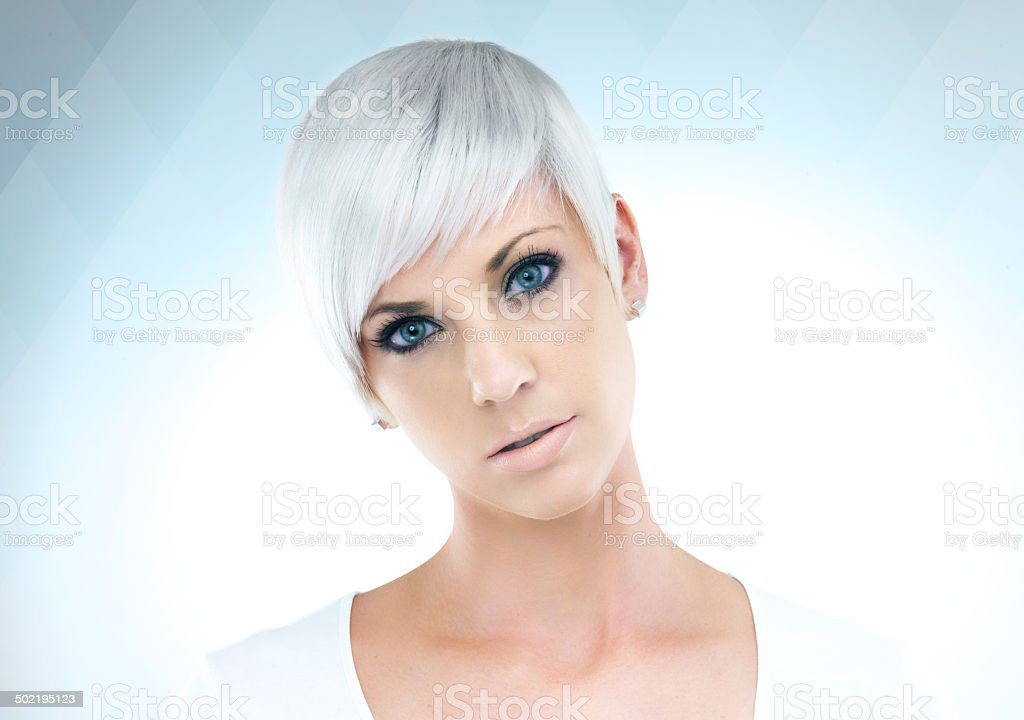 Futuristic beauty royalty-free stock photo