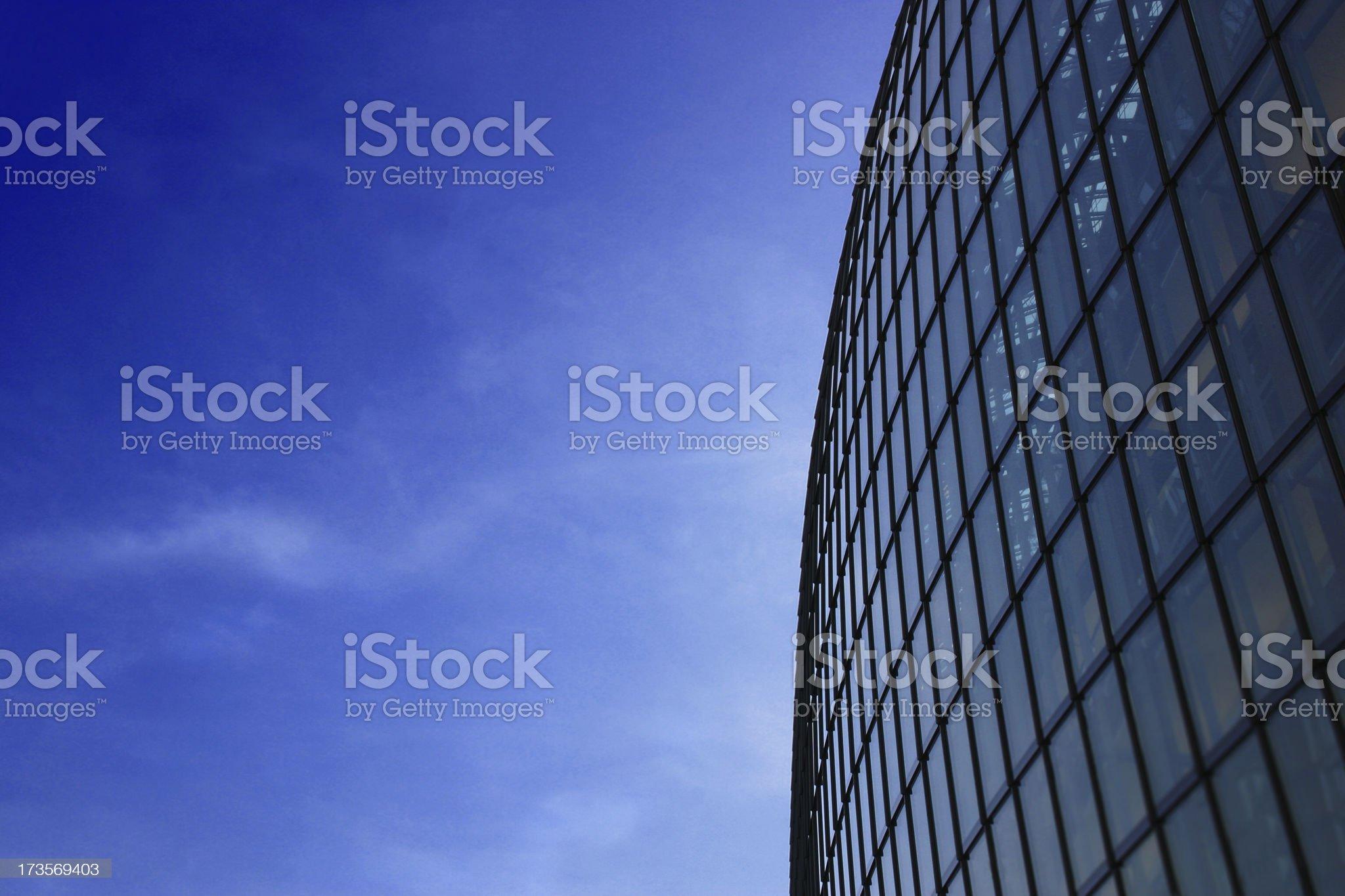 Futuristic Building royalty-free stock photo