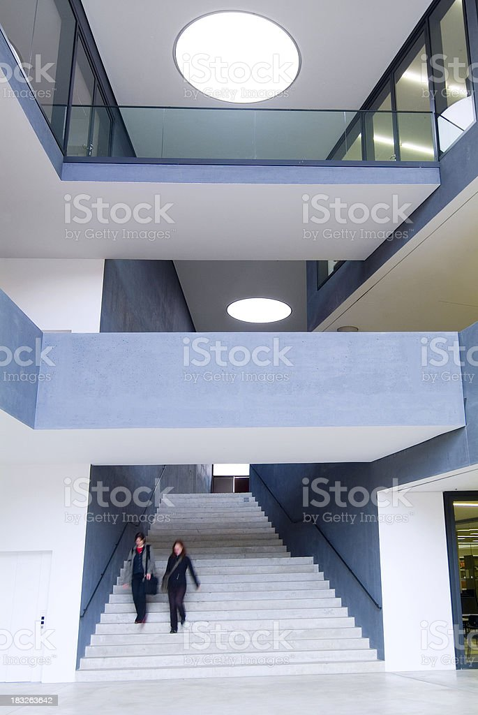 futuristic building royalty-free stock photo