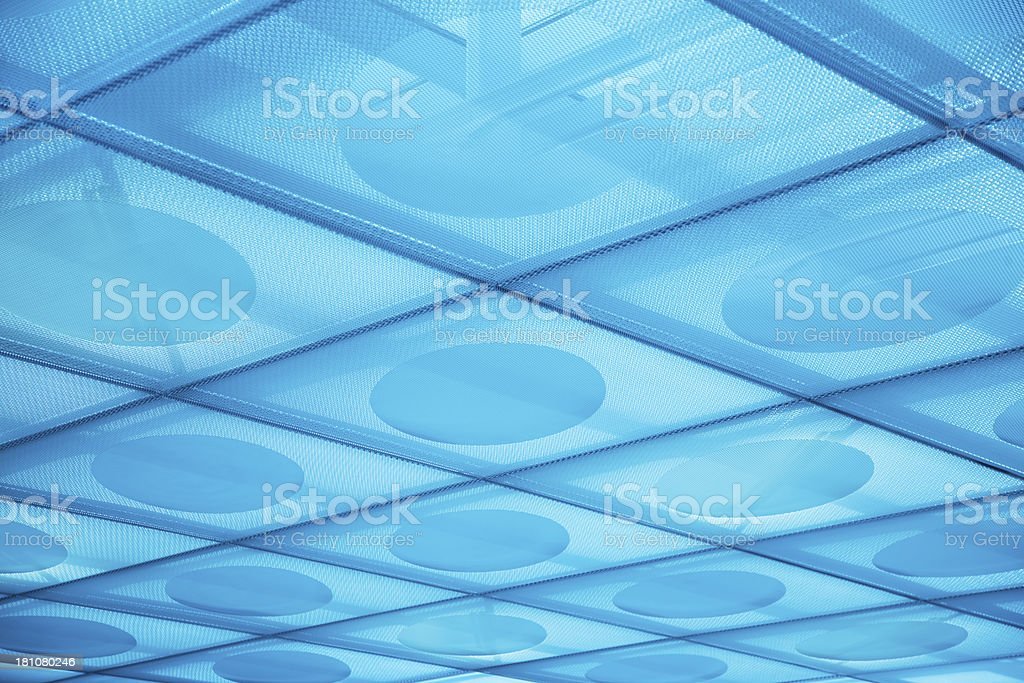 Futuristic Ceiling royalty-free stock photo