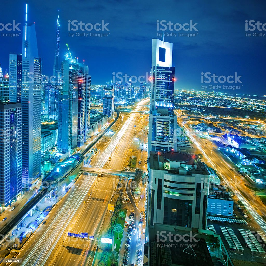 Futuristic City royalty-free stock photo