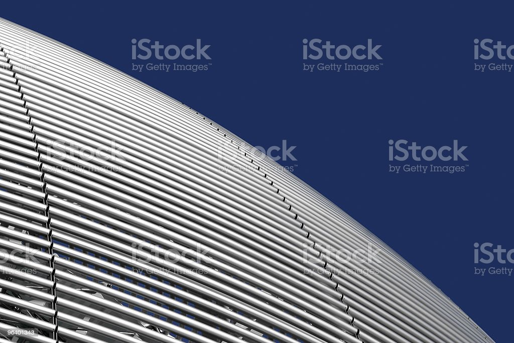 Futuristic dome details royalty-free stock photo