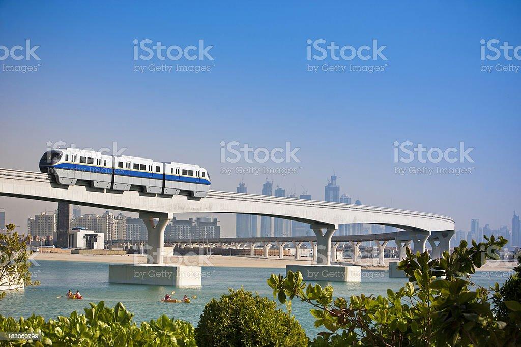 Futuristic Dubai stock photo