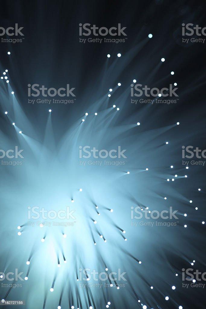 futuristic fiber optic royalty-free stock photo