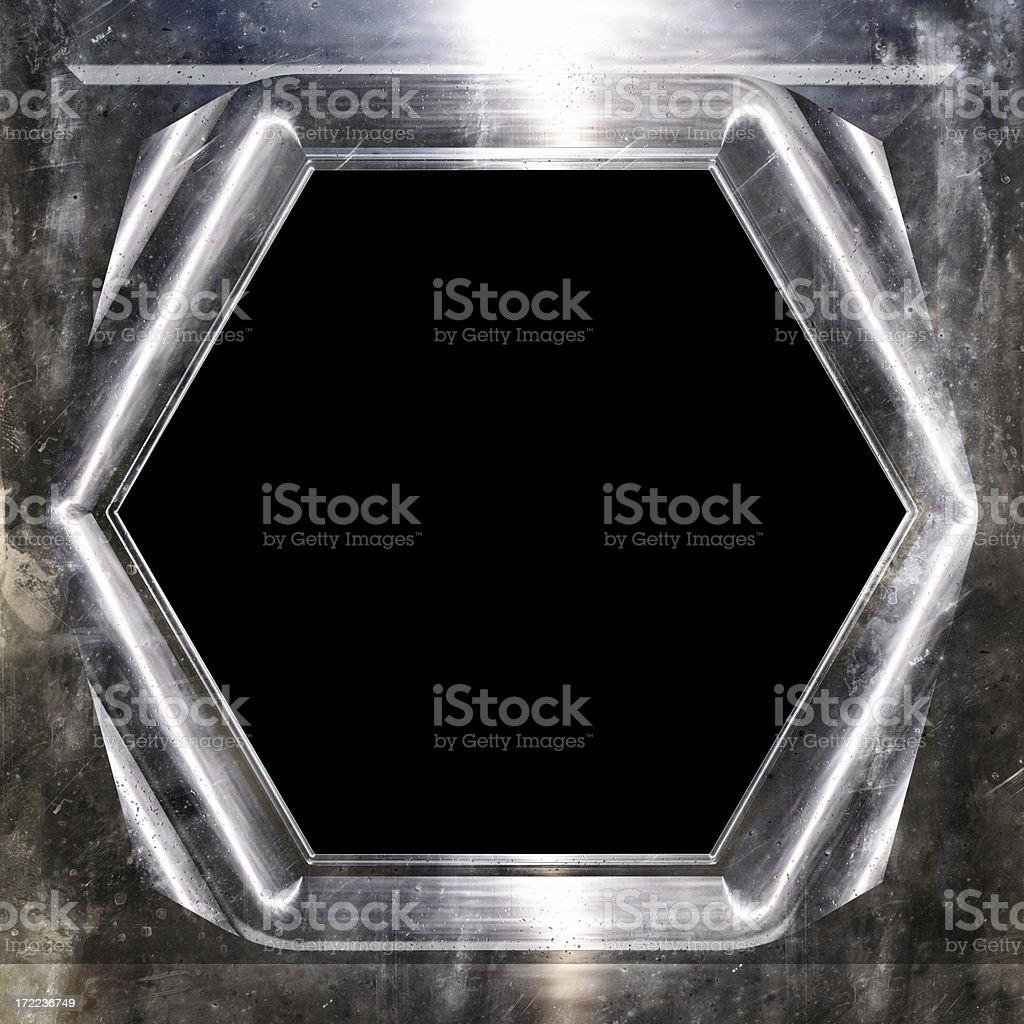 Futuristic frame royalty-free stock photo