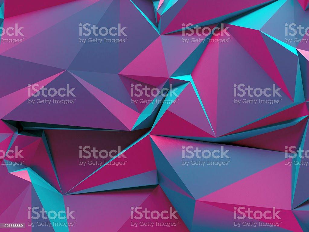 futuristic geometric background royalty-free stock photo