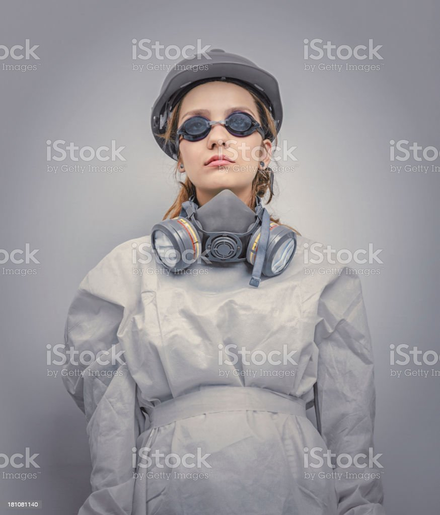 Futuristic Human royalty-free stock photo