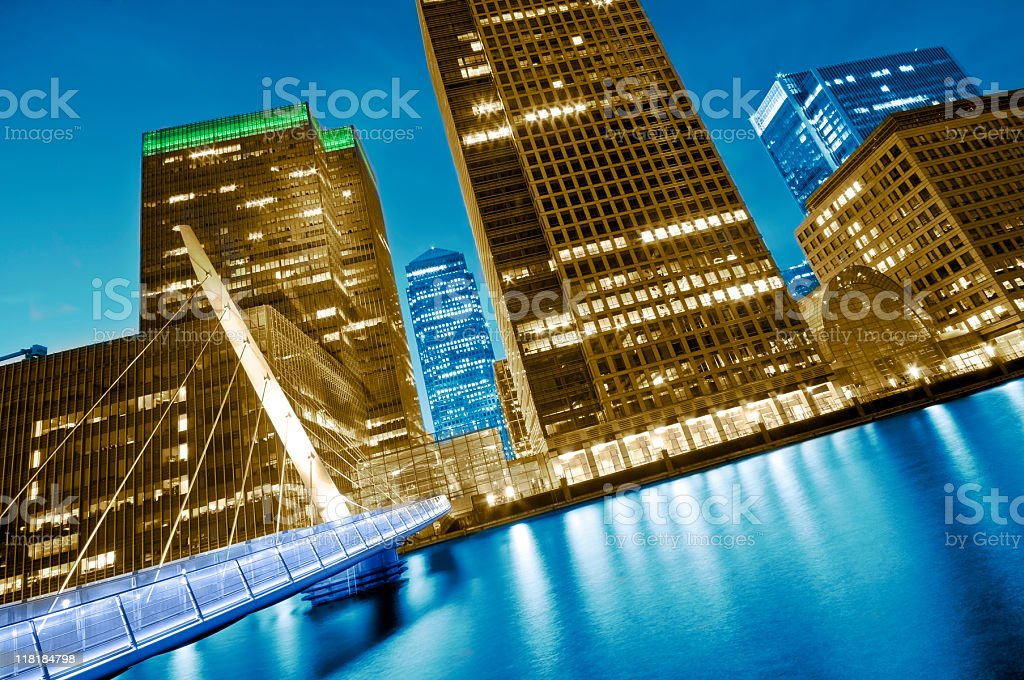 Futuristic London. royalty-free stock photo