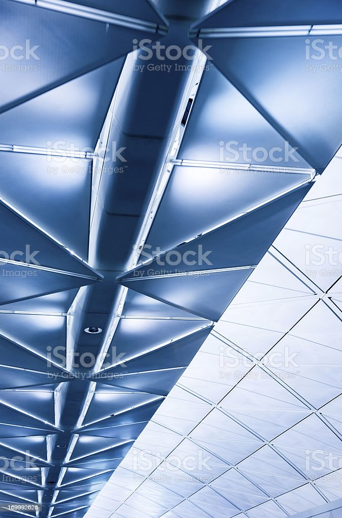Futuristic Roof royalty-free stock photo