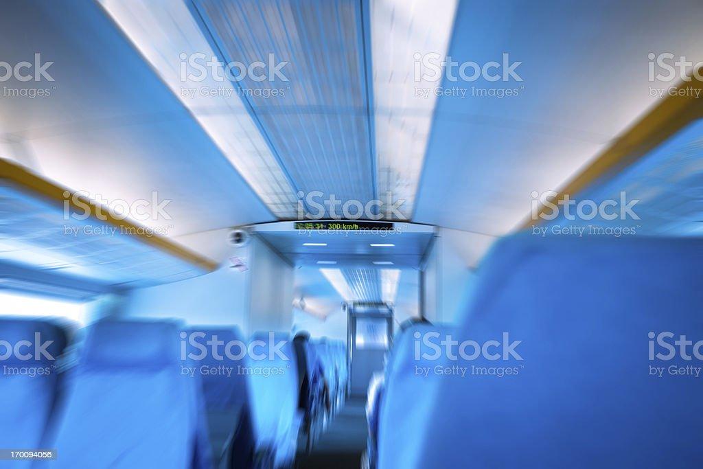 Futuristic Train royalty-free stock photo