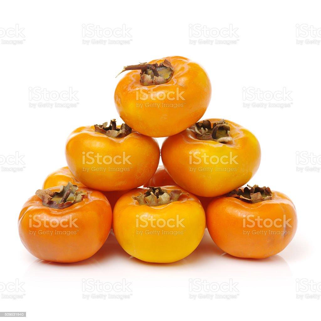 Fuyu persimmon stock photo