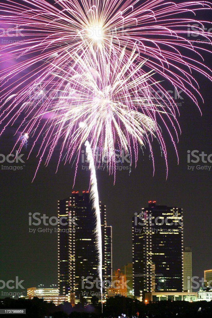 fwFireworks4 royalty-free stock photo