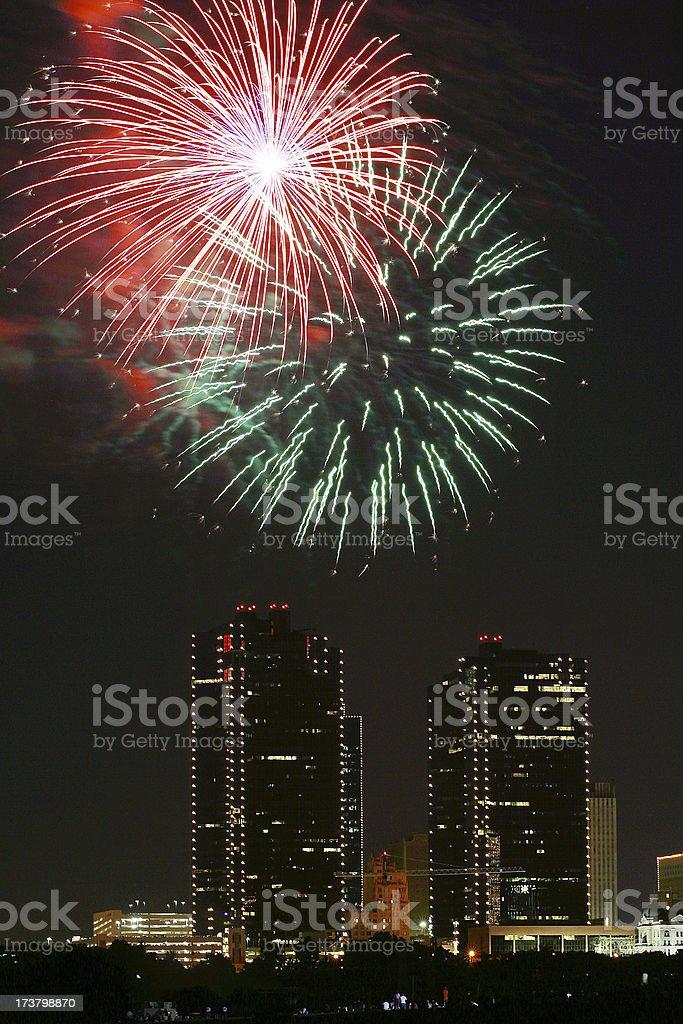 FWfireworks5 royalty-free stock photo