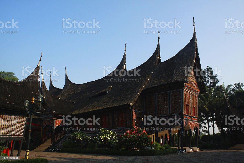 Gadang House stock photo