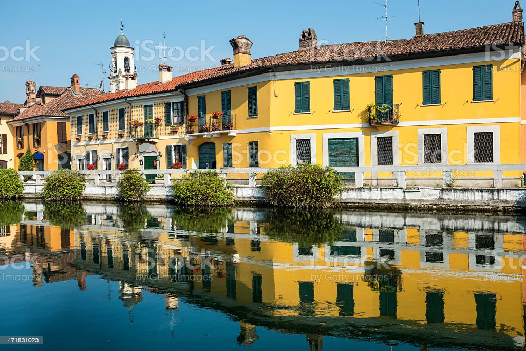 Gaggiano (Milan) royalty-free stock photo