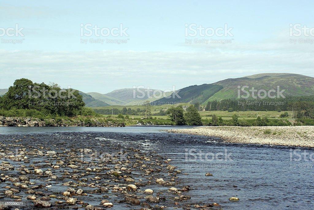 Gairlochy stock photo